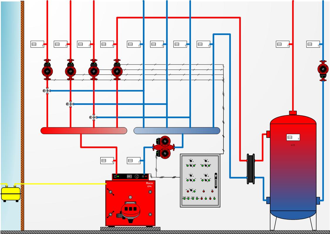 Effiautomation monitorizaci n de la eficiencia energ tica - Calefaccion central electrica ...